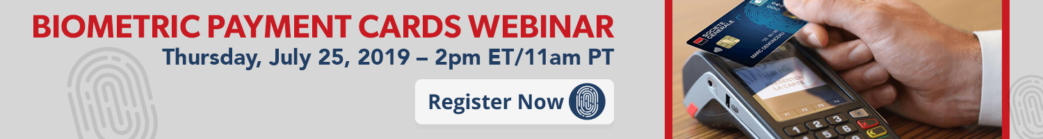Biometric Payment Card Webinar