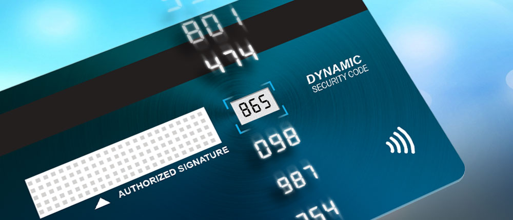Dynamic Security Code Card