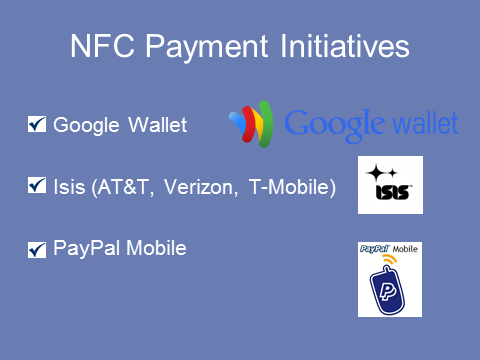 NFC Payment Initiatives