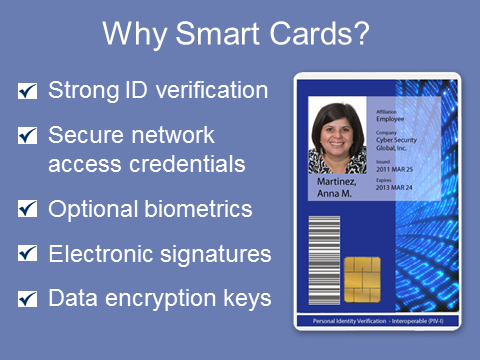 Smart Card Alliance : Slideshows : Personal Identity ...