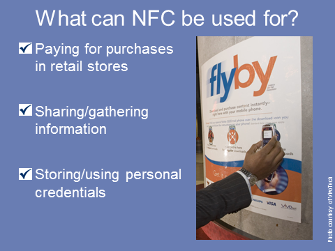 What can NFC be used for?