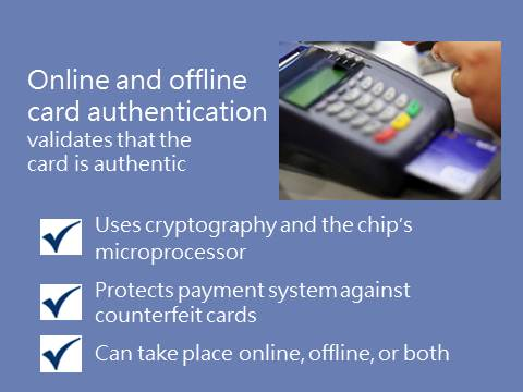 Online and Offline Card Authentication